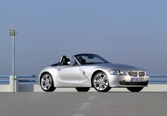 Pictures Of Bmw Z4 3 0i Roadster E85 2005 09 2048x1536