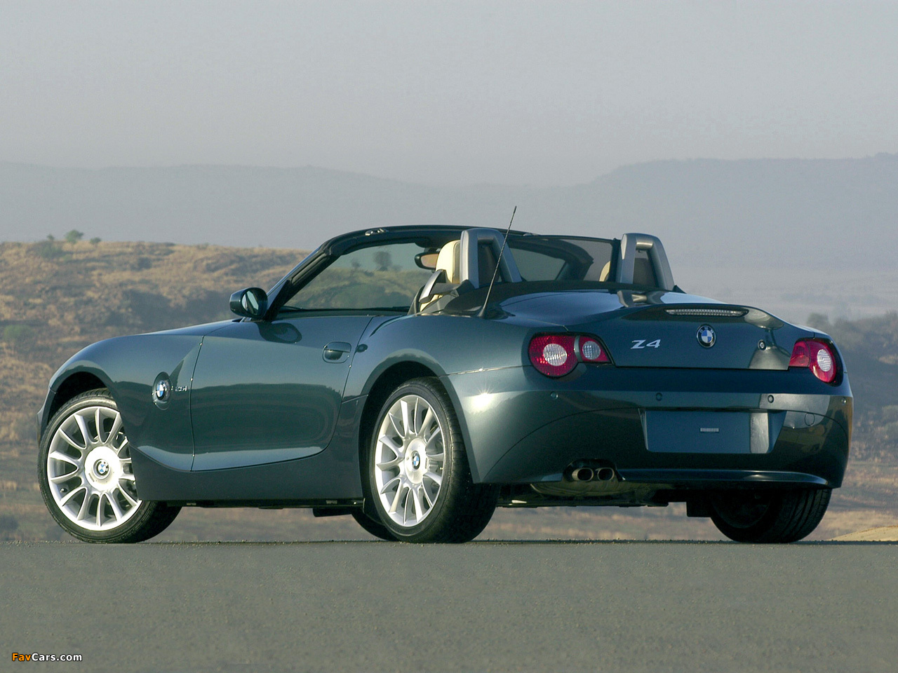 Wallpapers Of Bmw Z4 Roadster Individual E85 2004 1280x960