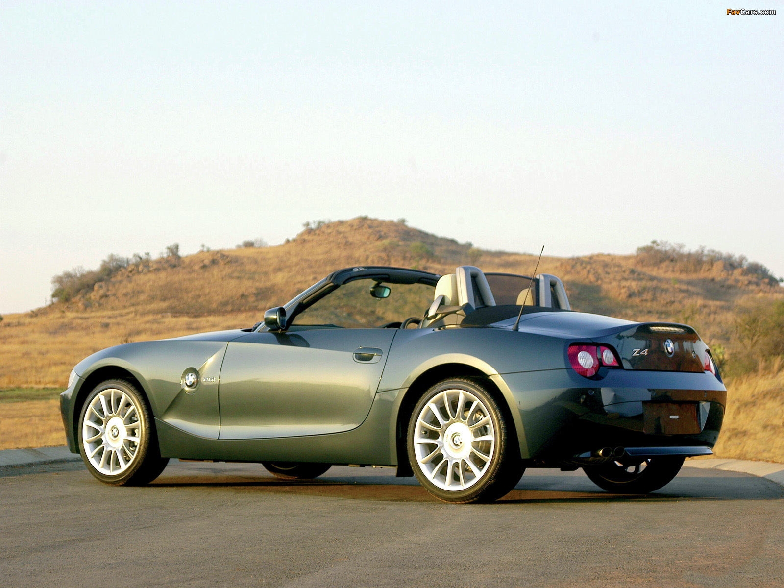 Wallpapers Of Bmw Z4 Roadster Individual E85 2004