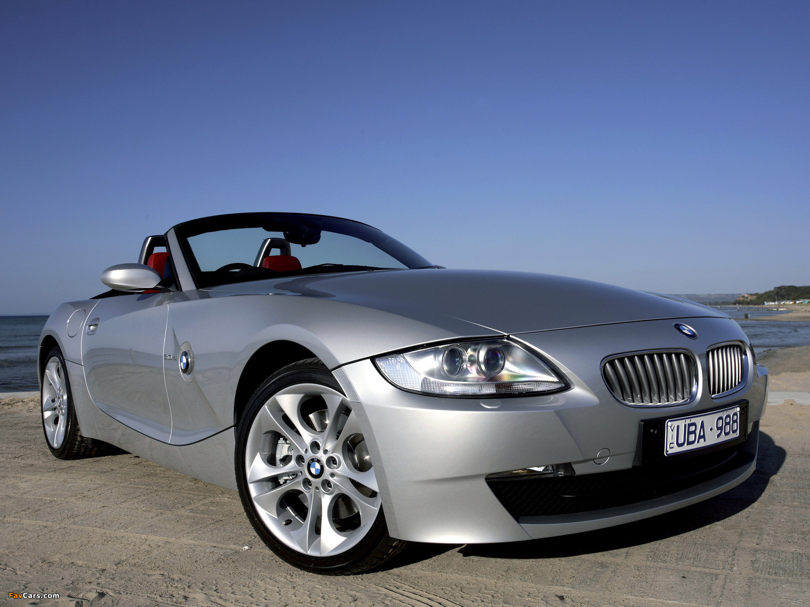Wallpapers Of Bmw Z4 3 0si Roadster Au Spec E85 2005 09 1600x1200