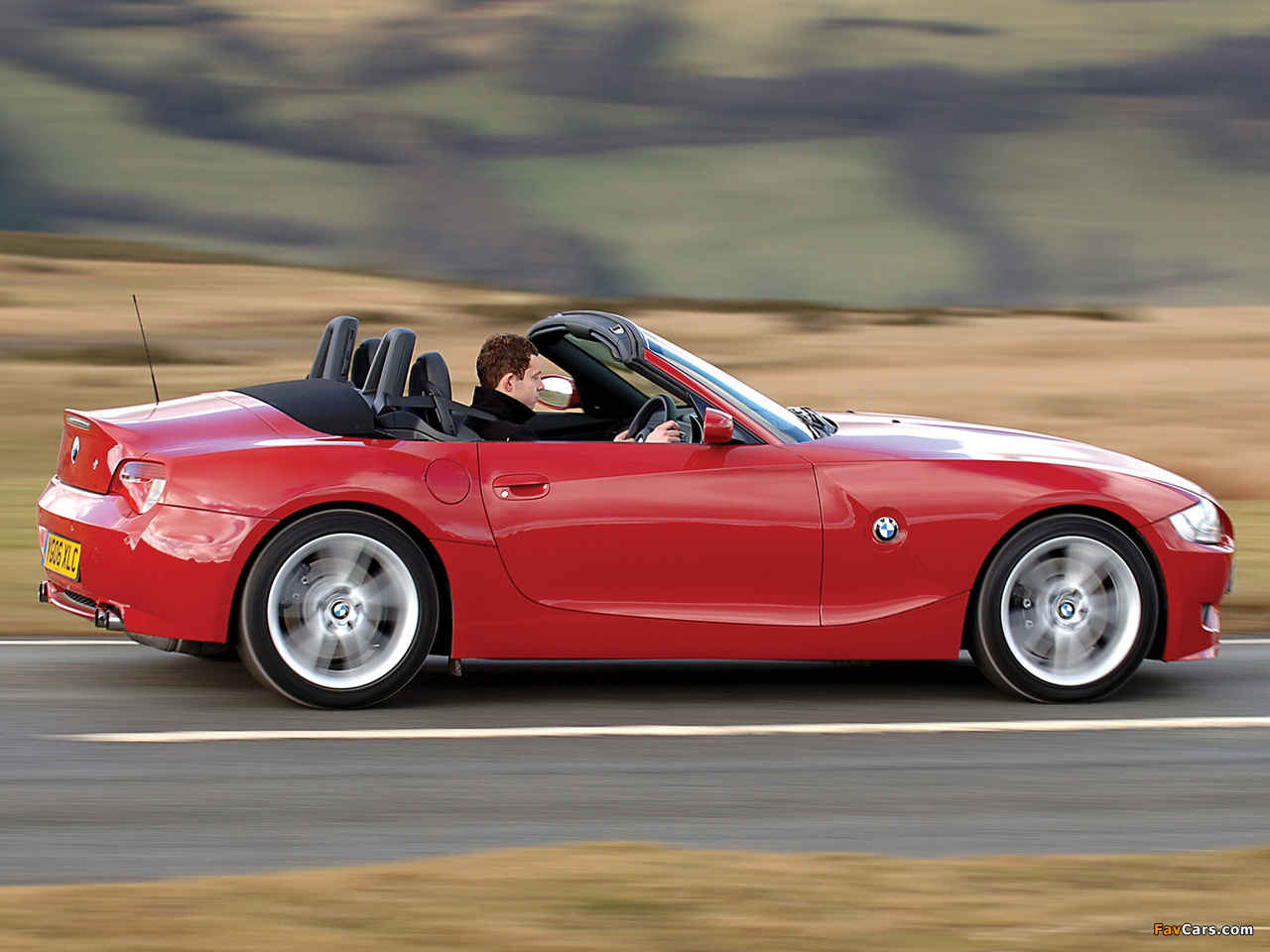 Wallpapers Of Bmw Z4 M Roadster Uk Spec E85 2006 08 1280x960