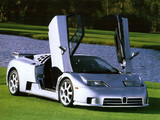Bugatti EB110 SS US-spec Prototype 1994 wallpapers