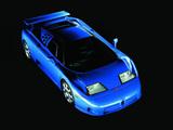 Photos of Bugatti EB110 SS US-spec Prototype 1994