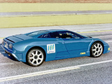 Pictures of Bugatti EB110 CNG Prototype 1994