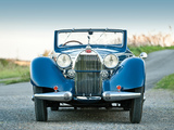 Images of Bugatti Type 57 Stelvio Cabriolet by Gangloff (№57435) 1937