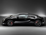 Bugatti Veyron Grand Sport Roadster Vitesse Black Bess 2014 wallpapers