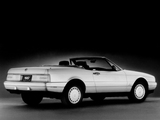 Cadillac Allanté 1987–93 wallpapers