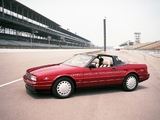 Cadillac Allanté Pace Car 1992 photos