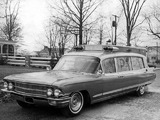 Cadillac Superior Ambulance (6890) 1962 photos