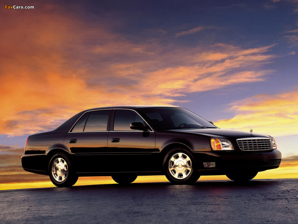 Cadillac DeVille 2000–05 wallpapers (1024x768)