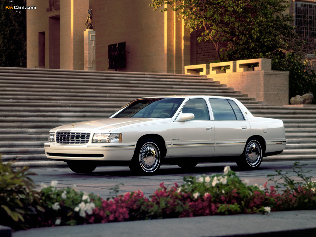 Wallpapers of Cadillac DeVille dElegance 1997–99 (1024x768)
