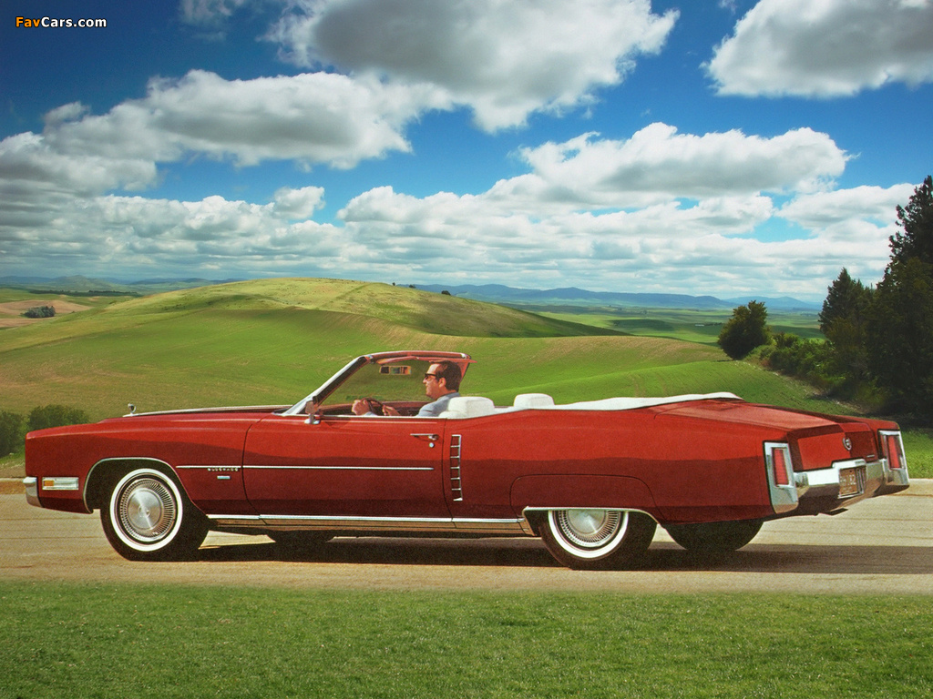 cadillac eldorado convertible 1971 images 1024 x 768. Cars Review. Best American Auto & Cars Review