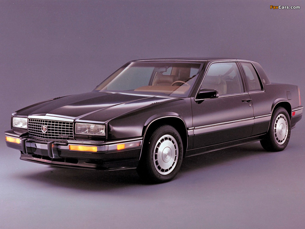 cadillac eldorado touring coupe 1990�91 wallpapers 1024x768