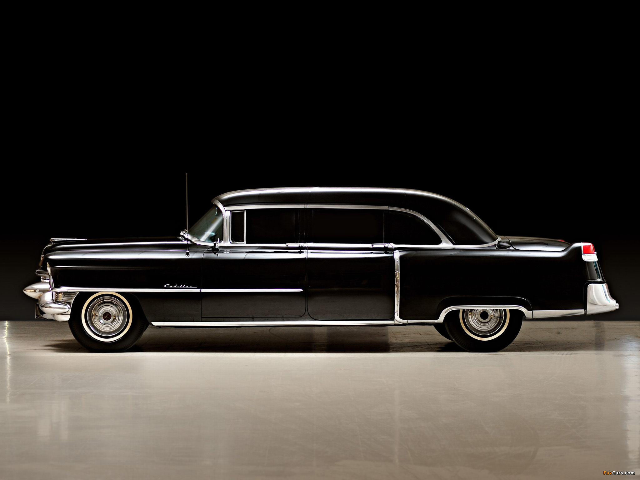 Cadillac Fleetwood Seventy-Five Limousine 1955 wallpapers ...