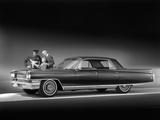 Cadillac Fleetwood Sixty Special (6039M) 1963 wallpapers
