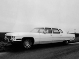 Cadillac Fleetwood Seventy-Five 1972 wallpapers
