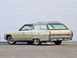 Pictures of Cadillac Fleetwood Sixty Special Station Wagon by Detroit Sunroof 1972