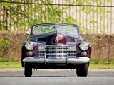 Cadillac Sixty-Two Convertible Coupe by Fleetwood 1941 photos