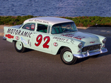 Chevrolet 150 Turbo Fire 195 HP 2-door Sedan Race Car (1502-1211) 1955 images
