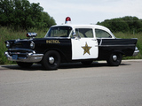 Chevrolet 150 2-door Sedan Patrol Car (1502-1211) 1957 wallpapers
