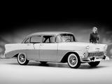 Chevrolet 210 4-door Sedan (2103-1019) 1956 wallpapers