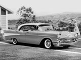 Photos of Chevrolet 210 Sport Sedan (2113-1039) 1957