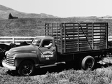 Chevrolet 6400 High Rack Truck (RW-6419) 1948 wallpapers