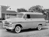 Wallpapers of Chevrolet Apache 31 Panel Van (3A-3105) 1958