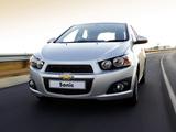 Chevrolet Sonic 5-door ZA-spec 2011 images