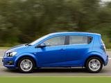 Images of Chevrolet Aveo 5-door UK-spec 2011