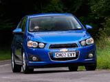 Photos of Chevrolet Aveo 5-door UK-spec 2011