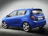 Pictures of Chevrolet Aveo 5-door 2011