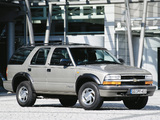 Chevrolet Blazer EU-spec 1997–2005 pictures
