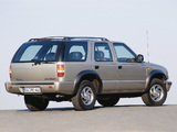 Chevrolet Blazer EU-spec 1997–2005 wallpapers