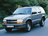 Wallpapers of Chevrolet Blazer EU-spec 1997–2005