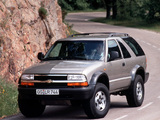 Chevrolet Blazer ZR2 EU-spec 1997–2005 wallpapers