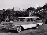 Chevrolet Brookwood 9-passenger Wagon 1958 photos