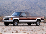 Chevrolet C/K 2500 Extended Cab 1988–99 photos