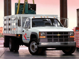 Pictures of Chevrolet C3500 HD Chassis Cab 1988–99
