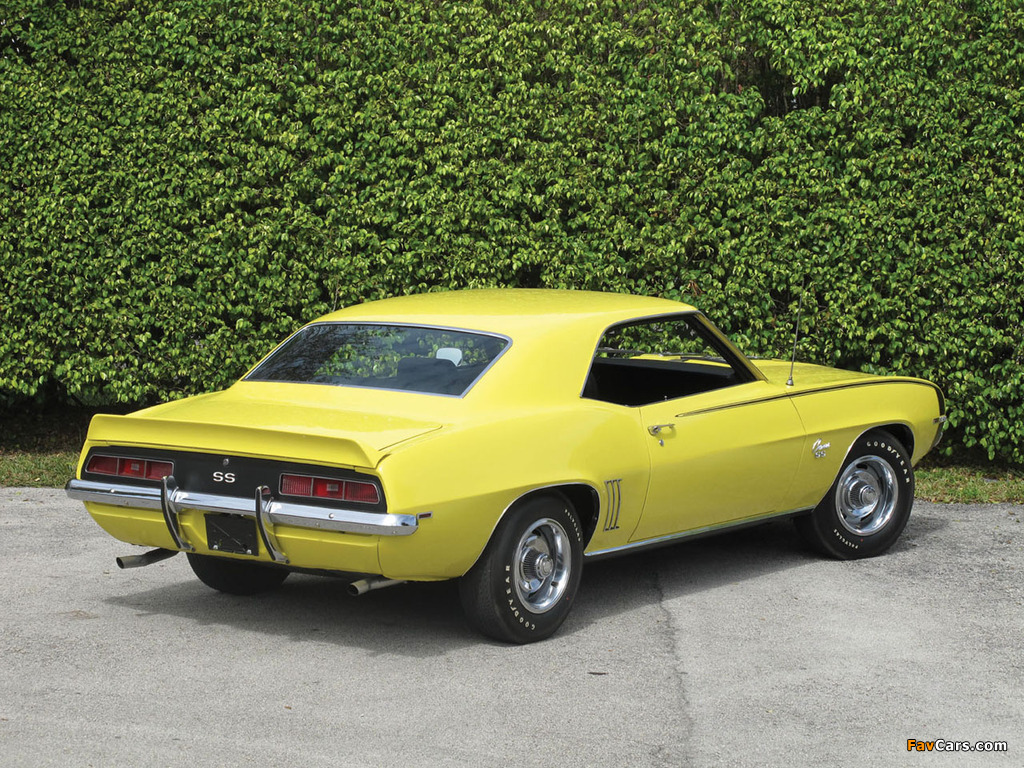 Images Of Chevrolet Camaro Ss 396 1969 1024x768