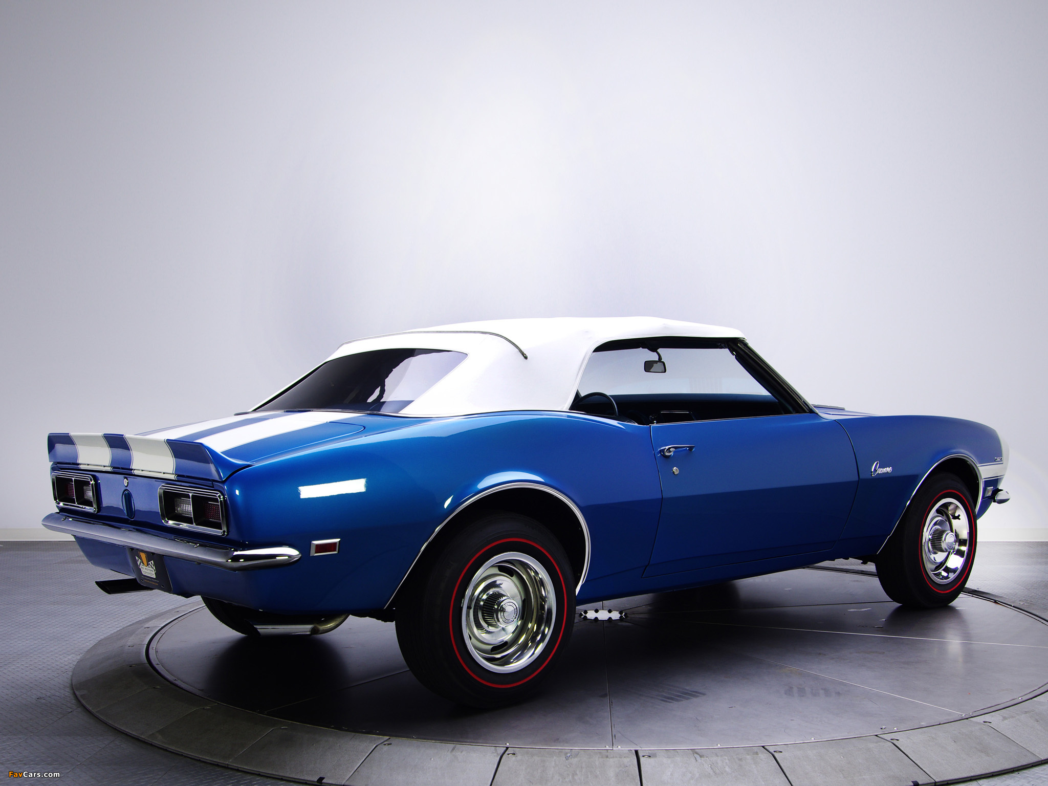 Photos Of Chevrolet Camaro 327 Convertible 1968 2048x1536