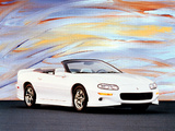 Photos of Chevrolet Camaro Convertible 1998–2002