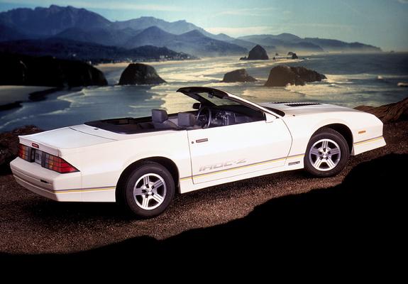 Camaro Iroc Z >> Pictures of Chevrolet Camaro Z28 IROC-Z Convertible 1987–90 (1280x960)