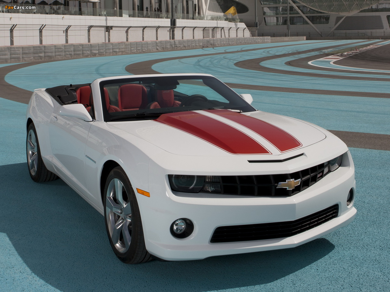 Wallpapers of Chevrolet Camaro SS Convertible 2010 (1280 x 960)