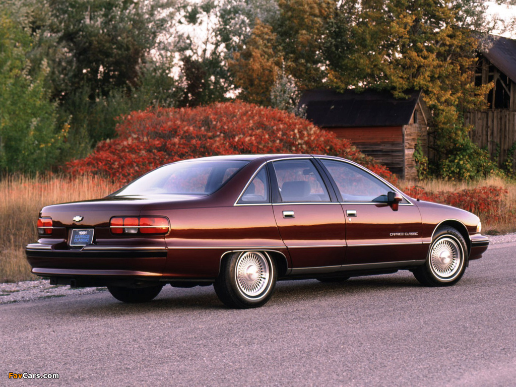 Chevrolet Caprice Classic 1991–93 wallpapers 1024 x 768