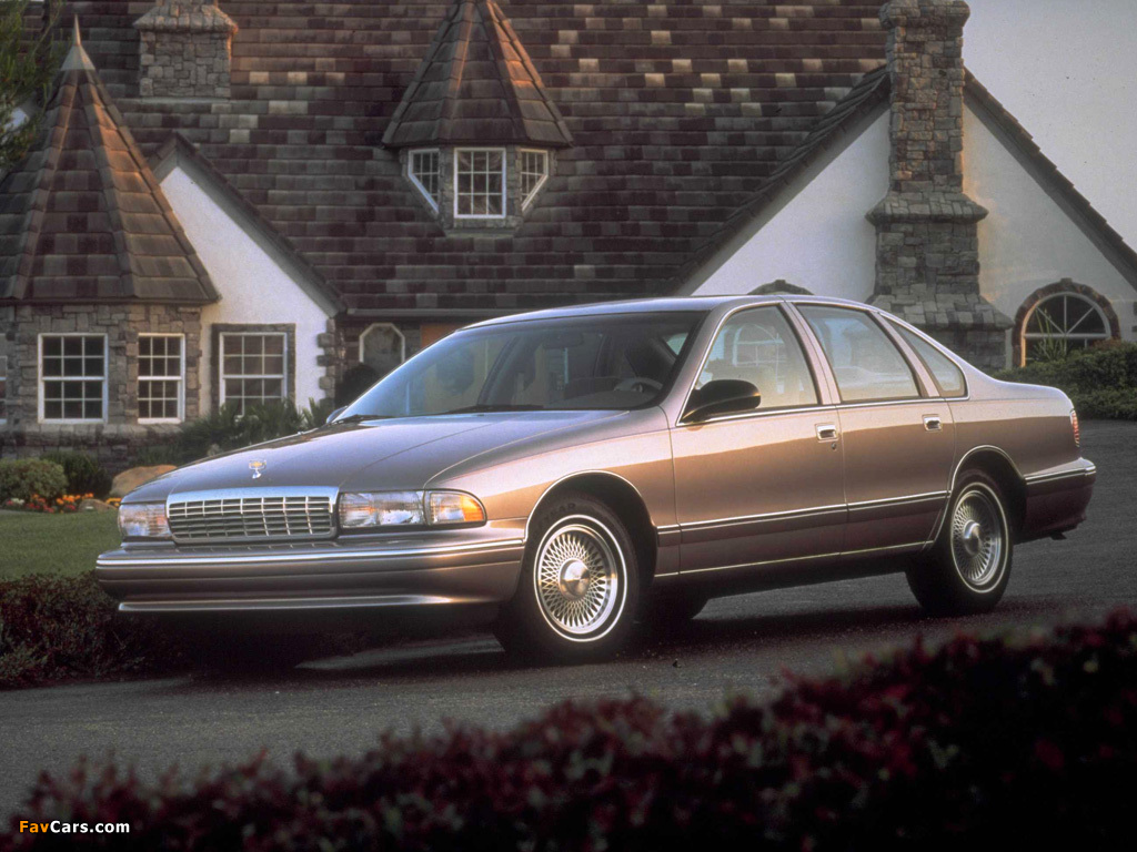 Chevrolet Caprice Classic 1993 96 Pictures 1024x768