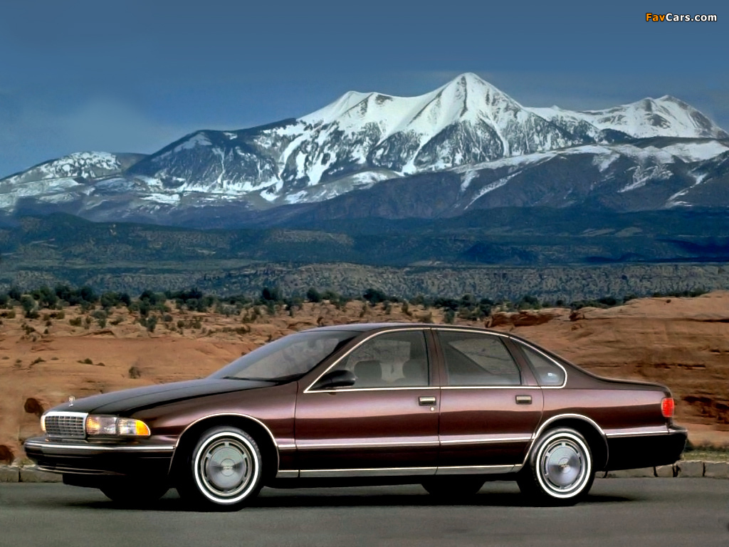 Pictures Of Chevrolet Caprice Classic 1993 96 1024x768