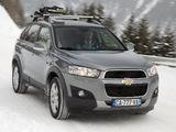 Chevrolet Captiva 2011–13 photos