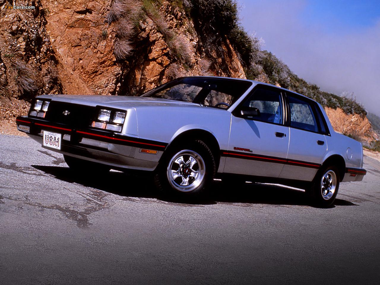 1985 Chevrolet Celebrity Eurosport - Fuel Injection V6 ...