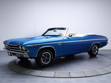 Chevrolet Chevelle SS 396 L35 Convertible 1969 pictures